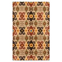 ECARPETGALLERY Eden 5' X 8' Tufted Area Rug in Copper/ivory