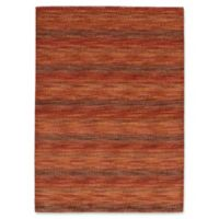 ECARPETGALLERY Luribaft 4'7 x 6'7 Hand Knotted Area Rug in Red