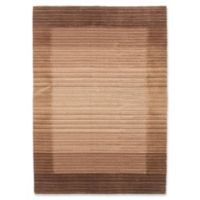 """ECARPETGALLERY Luribaft 4'7"""" X 6'7"""" Hand-Knotted Area Rug in Beige/brown"""