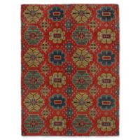 ECARPETGALLERY Mystique 4' X 6' Hand-Knotted Area Rug in Red