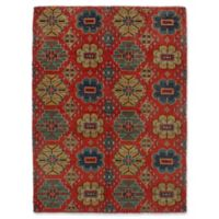 "ECARPETGALLERY Mystique 5'1"" X 7'1"" Hand-Knotted Area Rug in Red"