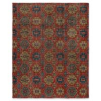 "ECARPETGALLERY Mystique 8'2"" X 10' Hand-Knotted Area Rug in Red"