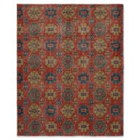 "ECARPETGALLERY Mystique 9'2"" X 12' Hand-Knotted Area Rug in Red"