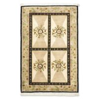 ECARPETGALLERY Opulence 3' X 5' Hand-Knotted Area Rug in Cream