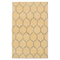 ECARPETGALLERY Trellis 5' x 8' Hand Tufted Area Rug in Cream