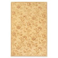 ECARPETGALLERY Chic 6' X 9' Tufted Area Rug in Gold