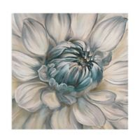 Masterpiece Art Gallery Daytime Dahlia II 30-Inch Square Canvas Wall Art