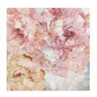 Masterpiece Art Gallery Peonies I 30-Inch Square Canvas Wall Art