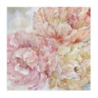 Masterpiece Art Gallery Peonies II 30-Inch Square Canvas Wall Art