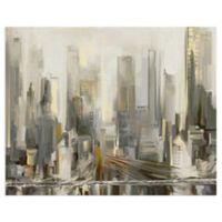 Masterpiece Art Gallery City Lights 22-Inch x 28-Inch Canvas Wall Art