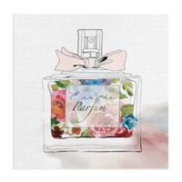 Masterpiece Art Gallery Chic Flower Perfume I 20-Inch Square Canvas Wall Art