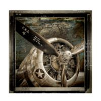 Masterpiece Art Gallery Wing and a Prayer 24-Inch Square Canvas Wall Art