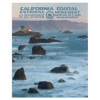 Masterpiece Art Gallery California Coastal 22-Inch x 28-Inch Canvas Wall Art