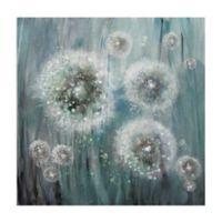 Masterpiece Art Gallery Dandelion Dream 24-Inch Square Canvas Wall Art
