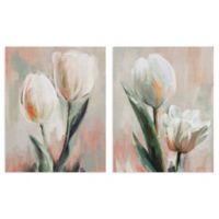 Masterpiece Art Gallery 2-Piece Tulip Duets I & II 16-Inch x 20-Inch Canvas Wall Art