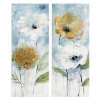 Masterpiece Art Gallery 2-Piece Holland Spring Blooms I & II 8-Inch x 20-Inch Canvas Wall Art