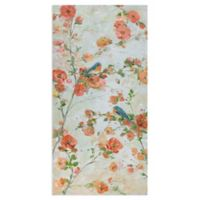 Bluebirds and Blossoms 17-Inch x 34-Inch Wrapped Canvas Wall Art