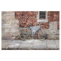 Masterpiece Art Gallery Transportation Live Free 24-Inch x 36-Inch Canvas Wall Art