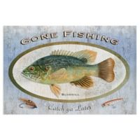 Masterpiece Art Gallery Animals Bluegill 24-Inch x 36-Inch Wrapped Canvas Wall Art