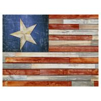 Masterpiece Art Gallery Wooden Flag 30-Inch x 40-Inch Canvas Wall Art
