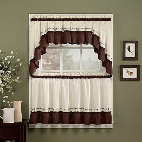 Jayden Window Curtain Tiers Bed Bath Amp Beyond