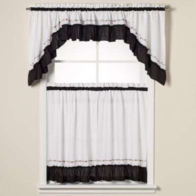 Buy Black Valance Curtains from Bed Bath & Beyond