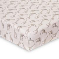 Glenna Jean Ollie & Jack Giraffe Fitted Crib Sheet
