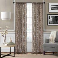 Montego 84-Inch Window Curtain Panel - Mink