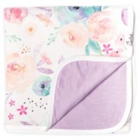 Copper Pearl 3-Layer Reversible Floral Quilt