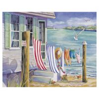 Masterpiece Art Gallery Windblown 16-Inch x 20-Inch Wrapped Canvas Wall Art
