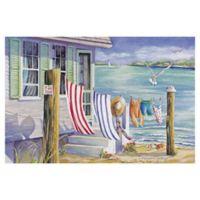 Masterpiece Art Gallery Windblown 24-Inch x 36-Inch Wrapped Canvas Wall Art