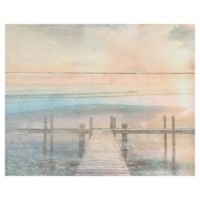 Masterpiece Art Gallery The Beach is Calling 16-Inch x 20-Inch Wrapped Canvas Wall Art
