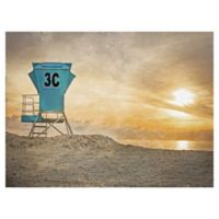Masterpiece Art Gallery Lifeguard Station 30-Inch x 40-Inch Wrapped Canvas Wall Art