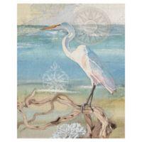 "Masterpiece Art Gallery Lynnea Washburn Walk on the Beach 16"" X 20"" Wall Art"
