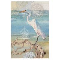 "Masterpiece Art Gallery Lynnea Washburn Walk on the Beach 24"" X 36"" Wall Art"