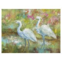 Egret Tapestry 30-Inch x 40-Inch Canvas Wall Art