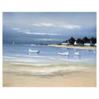 Masterpiece Art Gallery Coastal Inlet-II 22-Inch x 28-Inch Canvas Wall Art