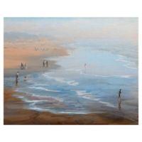 Masterpiece Art Gallery Beach Weekend Canvas Wall Art