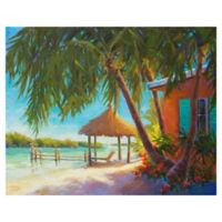 "Masterpiece Art Gallery Kathleen Denis Paradise 22"" x 28"" Wrapped Canvas Wall Art"