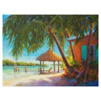 "Masterpiece Art Gallery Kathleen Denis Paradise 30"" x 40"" Wrapped Canvas Wall Art"