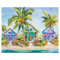 "Masterpiece Art Gallery Kathleen Denis Island Charm 22"" x 28"" Canvas Wall Art"