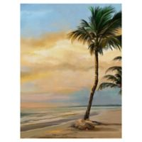 """Masterpiece Art Gallery Studio Arts Tropical 30"""" x 40"""" Wrapped Canvas Wall Art"""