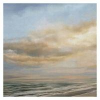 "Masterpiece Art Gallery Studio Arts Beach at Dusk 24"" x 24"" Canvas Wall Art"