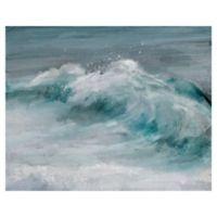 "Masterpiece Art Gallery Studio Arts Wave Length 22"" x 28"" Canvas Wall Art"