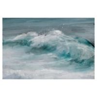 "Masterpiece Art Gallery Studio Arts Wave Length 24"" x 36"" Canvas Wall Art"