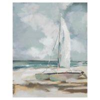 "Masterpiece Art Gallery Studio Arts Sailboat Wrapped 22"" x 28"" Canvas Wall Art"