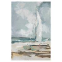 "Masterpiece Art Gallery Studio Arts Sailboat Wrapped 24"" x 36"" Canvas Wall Art"