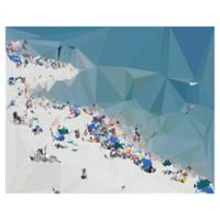 "Masterpiece Art Gallery Studio Arts Fractal Beach 22"" x 28"" Canvas Wall Art"