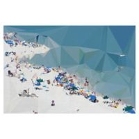 "Masterpiece Art Gallery Studio Arts Fractal Beach 24"" x 36"" Canvas Wall Art"