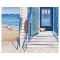"Masterpiece Art Gallery Kathleen Denis Seashore 22"" x 28"" Canvas Wall Art"